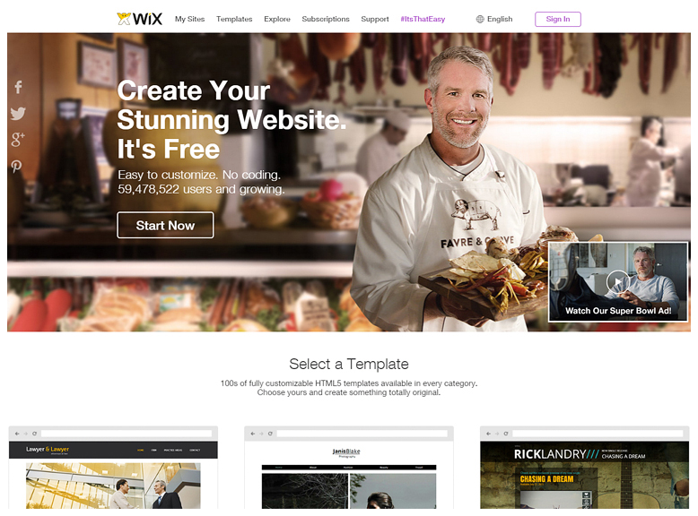 TOP 10 free website builders